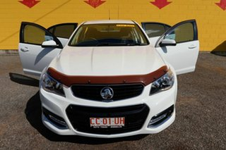 2015 Holden Commodore VF MY15 SV6 Storm White 6 Speed Manual Sedan.