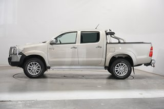 2013 Toyota Hilux KUN26R MY12 SR5 Double Cab Gold 4 Speed Automatic Utility.