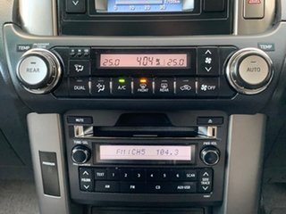 2011 Toyota Landcruiser Prado KDJ150R GXL Black Sports Automatic Wagon