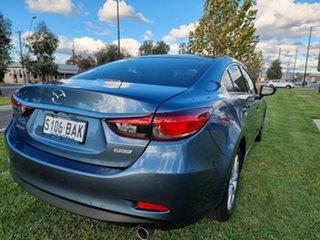 2013 Mazda 6 GJ1031 Sport SKYACTIV-Drive Blue Reflex 6 Speed Sports Automatic Sedan.