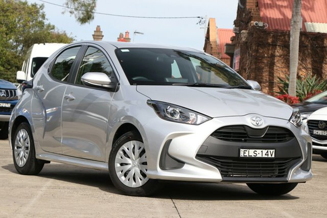 Pre-Owned Toyota Yaris Mxpa10R Ascent Sport Mosman, 2020 Toyota Yaris Mxpa10R Ascent Sport Silver Pearl 1 Speed Constant Variable Hatchback