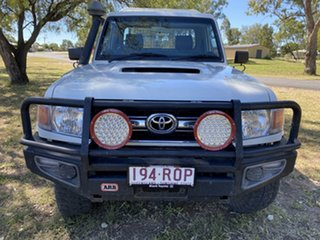 2011 Toyota Landcruiser VDJ79R 09 Upgrade GXL (4x4) French Vanilla 5 Speed Manual Cab Chassis