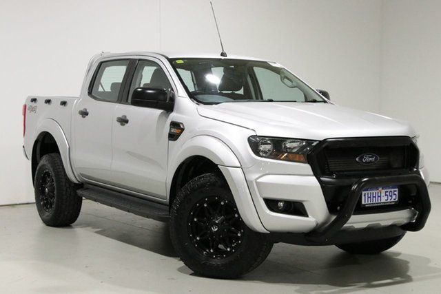 Used Ford Ranger PX MkII MY17 XLS 3.2 (4x4) Bentley, 2017 Ford Ranger PX MkII MY17 XLS 3.2 (4x4) Silver 6 Speed Manual Double Cab Pick Up