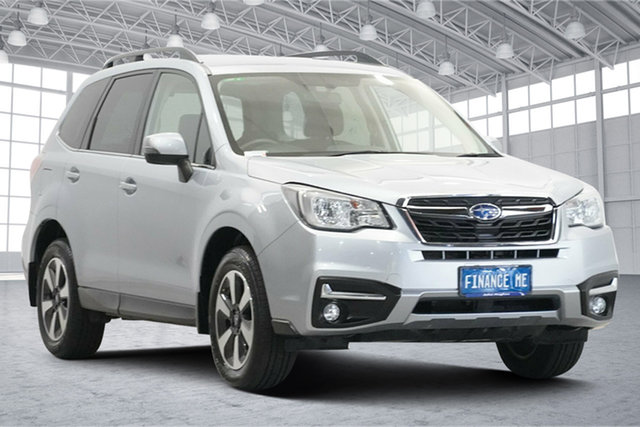 Used Subaru Forester S4 MY18 2.0D-L CVT AWD Victoria Park, 2018 Subaru Forester S4 MY18 2.0D-L CVT AWD Ice Silver 7 Speed Constant Variable Wagon