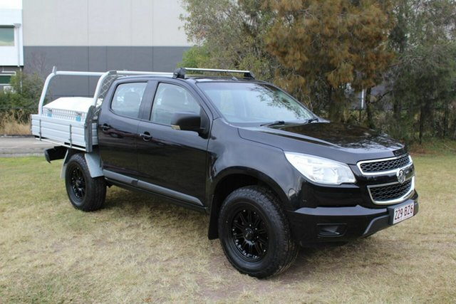 Used Holden Colorado RG MY16 LS-X Crew Cab Ormeau, 2015 Holden Colorado RG MY16 LS-X Crew Cab Black 6 Speed Sports Automatic Utility