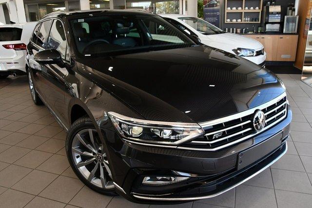 New Volkswagen Passat 3C (B8) MY21 162TSI DSG Elegance Botany, 2021 Volkswagen Passat 3C (B8) MY21 162TSI DSG Elegance Manganese Grey Metallic 6 Speed
