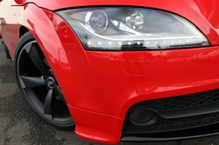 2013 Audi TT 8J MY13 S Tronic Quattro Red 6 Speed Sports Automatic Dual Clutch Coupe.
