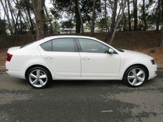 2013 Skoda Octavia NE MY14 Elegance Sedan DSG 103TSI White 7 Speed Sports Automatic Dual Clutch.