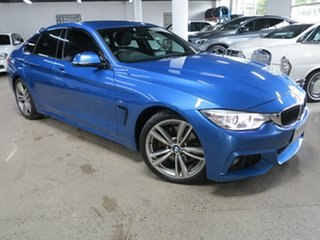 2016 BMW 4 Series F36 428i Gran Coupe M Sport Blue 8 Speed Sports Automatic Hatchback.