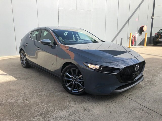 New Mazda 3 BP2H7A G20 SKYACTIV-Drive Touring Alexandria, 2021 Mazda 3 BP2H7A G20 SKYACTIV-Drive Touring Polymetal Grey 6 Speed Sports Automatic Hatchback