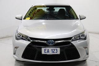 2016 Toyota Camry AVV50R Atara SL Silver 1 Speed Constant Variable Sedan Hybrid.