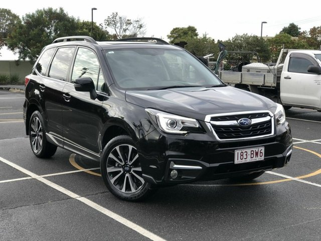 Used Subaru Forester S4 MY16 2.0D-S CVT AWD Chermside, 2016 Subaru Forester S4 MY16 2.0D-S CVT AWD Black 7 Speed Constant Variable Wagon
