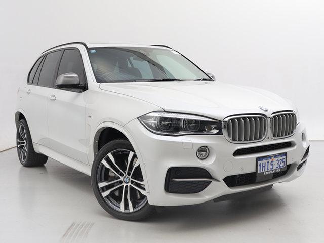 Used BMW X5 F15 M50D, 2014 BMW X5 F15 M50D White 8 Speed Automatic Wagon