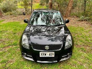 2008 Suzuki Swift RS416 Sport Blueish Black/black 5 Speed Manual Hatchback