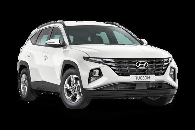 Demo Hyundai Tucson NX4.V1 MY22 2WD Hamilton, 2021 Hyundai Tucson NX4.V1 MY22 2WD White Cream 6 Speed Automatic Wagon