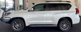 2018 Toyota Landcruiser Prado GDJ150R Kakadu White 6 Speed Sports Automatic Wagon
