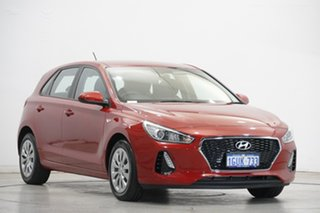 2019 Hyundai i30 PD MY19 Go Red 6 Speed Sports Automatic Hatchback