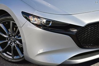 2021 Mazda 3 BP2H7A G20 SKYACTIV-Drive Touring Silver 6 Speed Sports Automatic Hatchback.