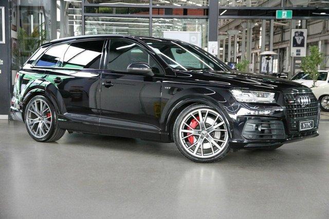 Used Audi SQ7 4M MY18 TDI Tiptronic North Melbourne, 2017 Audi SQ7 4M MY18 TDI Tiptronic Black 8 Speed Sports Automatic Wagon