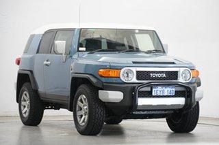 2015 Toyota FJ Cruiser GSJ15R MY14 Blue 5 Speed Automatic Wagon
