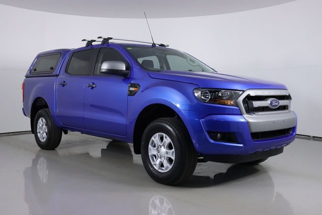 Used Ford Ranger PX MkII MY18 XLS 3.2 (4x4) Bentley, 2018 Ford Ranger PX MkII MY18 XLS 3.2 (4x4) Blue 6 Speed Manual Double Cab Pick Up