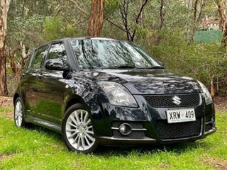 2008 Suzuki Swift RS416 Sport Blueish Black/black 5 Speed Manual Hatchback.