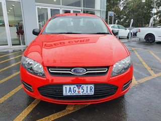 2013 Ford Falcon FG MkII EcoLPi Ute Super Cab Red 6 Speed Sports Automatic Utility.