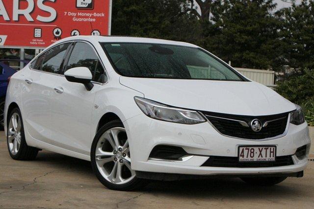 Used Holden Astra BL MY17 LTZ Toowoomba, 2017 Holden Astra BL MY17 LTZ White 6 Speed Sports Automatic Sedan