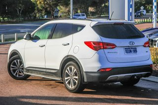 2015 Hyundai Santa Fe DM3 MY16 Elite White 6 Speed Sports Automatic Wagon.
