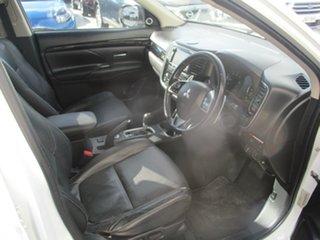 2013 Mitsubishi Outlander ZJ Aspire (4x4) White 6 Speed Automatic Wagon