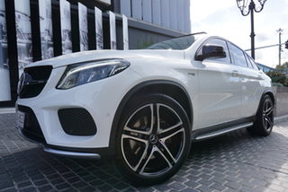 2018 Mercedes-Benz GLE-Class C292 GLE43 AMG Polar White 9 Speed Sports Automatic Coupe