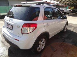 2011 Suzuki SX4  MY11  4x4 White Continuous Variable Hatchback.