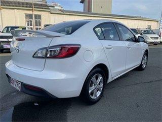 2011 Mazda 3 BL 10 Upgrade Maxx White Sedan.