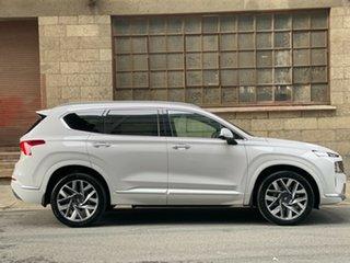 2021 Hyundai Santa Fe Tm.v3 MY21 Highlander DCT Glacier White 8 Speed Automatic Wagon.