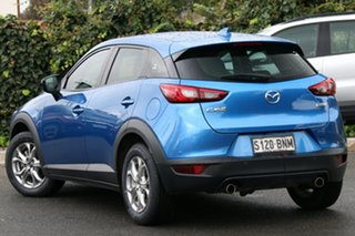 2016 Mazda CX-3 DK2W7A Maxx SKYACTIV-Drive Dynamic Blue 6 Speed Sports Automatic Wagon.