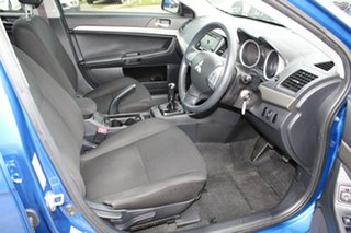 2013 Mitsubishi Lancer CJ MY13 ES Blue 5 Speed Manual Sedan