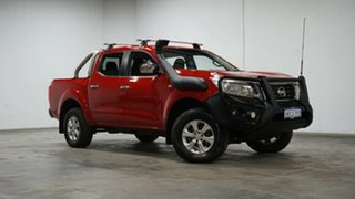 2016 Nissan Navara D23 ST Red 7 Speed Sports Automatic Utility.