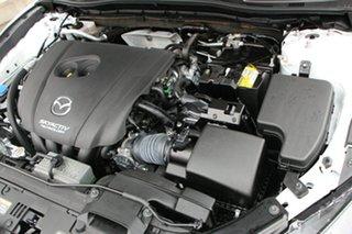 2019 Mazda 3 BN5238 SP25 SKYACTIV-Drive White 6 Speed Sports Automatic Sedan