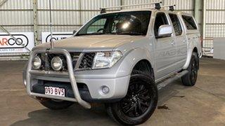 2009 Nissan Navara D40 ST White 5 Speed Automatic Utility.