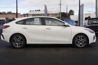 2020 Kia Cerato BD MY21 Sport+ Clear White 6 Speed Sports Automatic Hatchback.