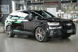 2017 Audi SQ7 4M MY18 TDI Tiptronic Black 8 Speed Sports Automatic Wagon