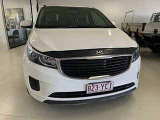 2018 Kia Carnival YP MY18 S White 6 Speed Automatic Wagon.