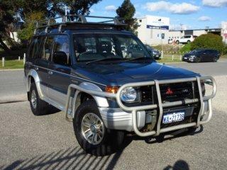 1992 Mitsubishi Pajero NH GLS LWB (4x4) 5 Speed Manual 4x4 Wagon.