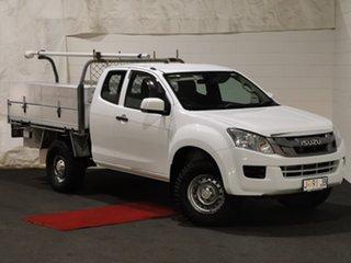 2013 Isuzu D-MAX MY12 LS-Terrain Crew Cab White 5 Speed Manual Utility.