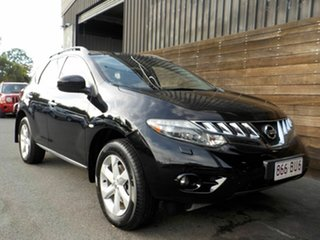 2011 Nissan Murano Z51 Series 2 MY10 ST Black 6 Speed Constant Variable Wagon.