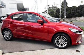 2021 Mazda 2 DJ2HAA G15 SKYACTIV-Drive Evolve Red 6 Speed Sports Automatic Hatchback