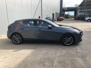 2021 Mazda 3 BP2H7A G20 SKYACTIV-Drive Touring Polymetal Grey 6 Speed Sports Automatic Hatchback.