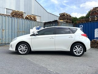 2014 Toyota Corolla ZRE182R Ascent Sport White 6 Speed Manual Hatchback