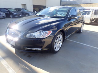 2009 Jaguar XF 2.7D Luxury Black 6 Speed Automatic Sedan.