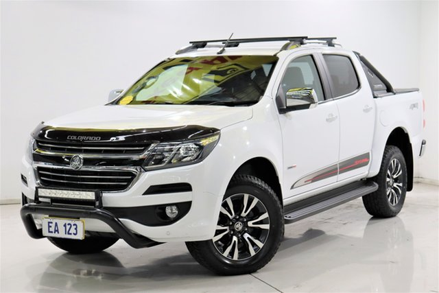 Used Holden Colorado RG MY20 Storm Pickup Crew Cab Brooklyn, 2019 Holden Colorado RG MY20 Storm Pickup Crew Cab White 6 Speed Sports Automatic Utility